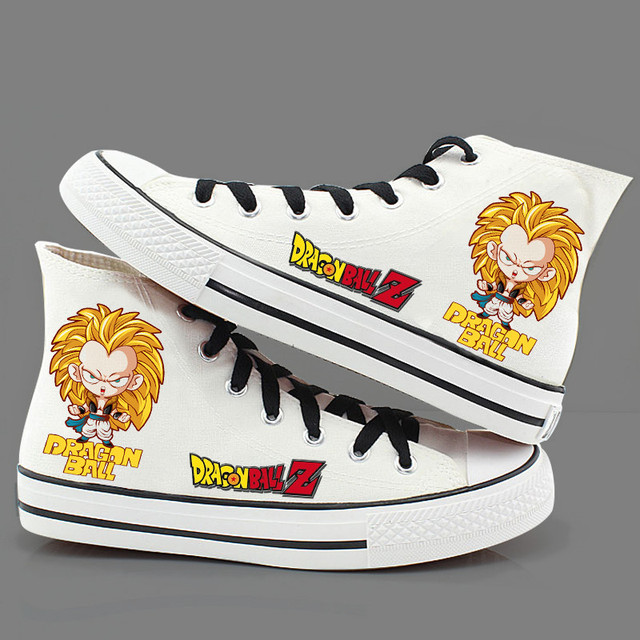 Dragon Ball Z Chibi High Top-Shoes