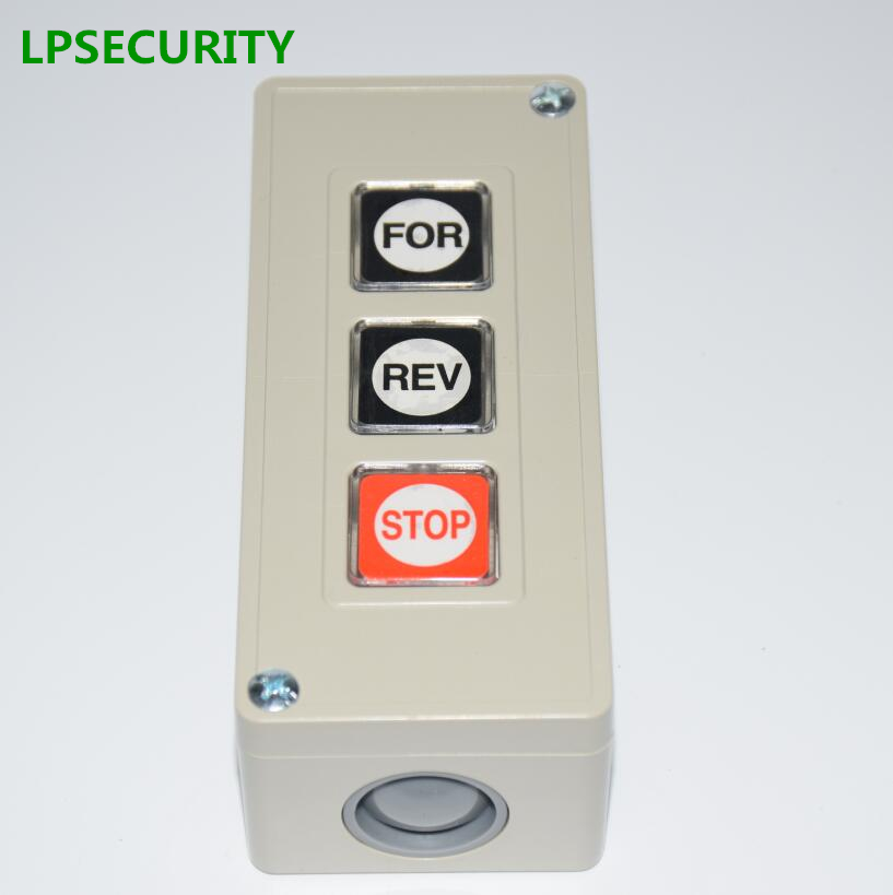 LPSECURITY MANUAL Push button Switch for barrier gates and gate openers/Commercial Garage Door Opener Three Button Station lpsecurity manual push button switch for barrier gates and gate openers commercial garage door opener three button station