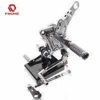 Для Ducati Diavel 11 15 Карбон 11 16 AMG 11 12 ЧПУ Алюминиевый Регулируемый подножки для мотоцикла задние наборы ножная педаль подножка