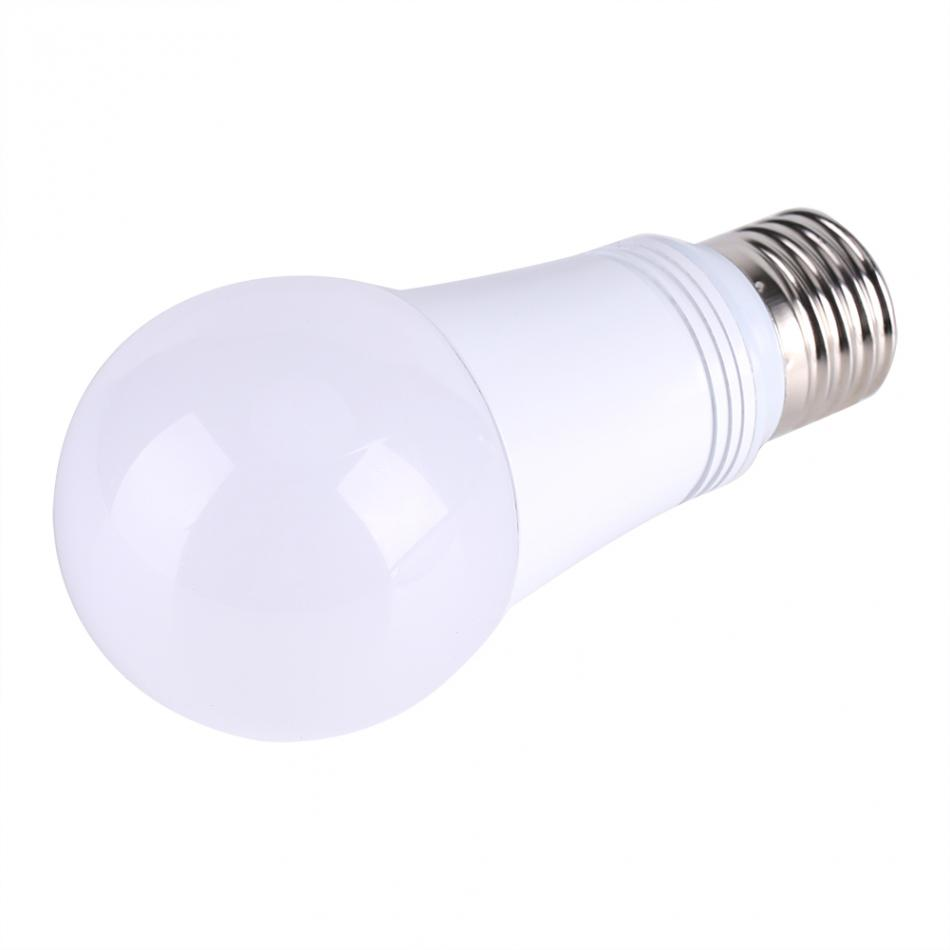 7W E27 LED Flame Light Buble RGB Color Changing Dimmable WIFI Smart LED Effect Fire Bulb Light Wireless Dimmable Lamp