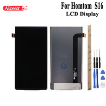 Alesser For Homtom S16 LCD Display Screen Perfect Replacement Mobile Accessories 5.5 Inch For Homtom S16 With Tools +Adhesive