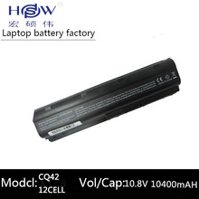 10400MAH 11.1V 6cells battery notebook laptop batteries FOR HP Compaq MU06 MU09 CQ42 CQ32 G62 G72 G42 593553-001 DM4 593554-001 цена