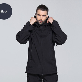 Soft Shell Hooded Military Tactical Jacket 1