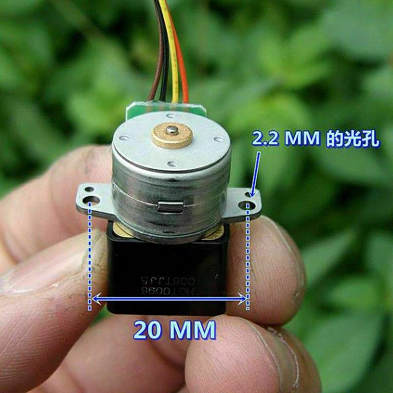 Микро-15 мм Точность снижение Шестерни коробка DC 5V 2-фазный 4-проводной небольшой мини металлический Шестерни редуктор шагового двигателя DIY классическая игрушка роботы-машины