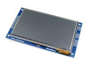 7 дюймовый Емкостный Сенсорный ЖК (C) # Жк-Дисплей 800*480 Многоцветный Графический ЖК-ДИСПЛЕЙ, TFT LCD I2C Интерфейс Сенсорной Панели