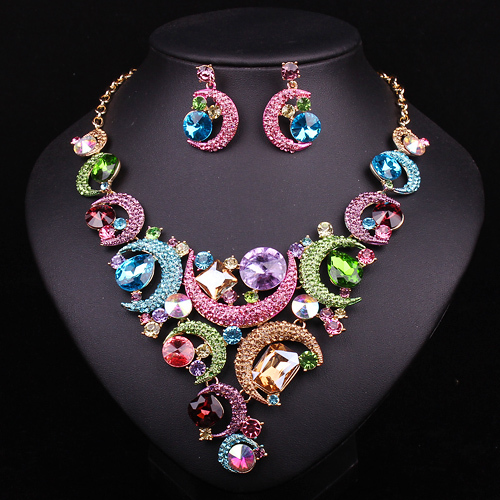 Aliexpress Com Buy New Fashion Necklace Earrings Bridal: Aliexpress.com : Buy Fashion Choker Necklace And Earrings