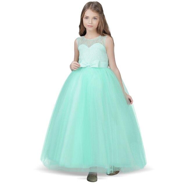 8e79b8522bf Marque Adolescente Enfants Robes Pour Filles Vêtements Longue Tulle