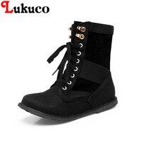 2018 Elegant Lady WINTER Warm Boots Plus Size 38 39 40 41 42 43 44 45
