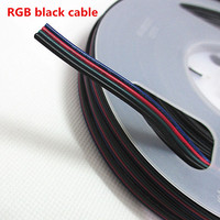 5~100 meters RGBW RGBW 5050 3528 LED Stirp Light 2pin 3pin 4pin 5Pin 22 AWG Extension Electric Wire Led Connector Cable
