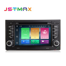 Android 6.0 7 Inch 2 Din Touch Screen Car Video DVD Player WIFi GPS Map Audio 8-Core In-dash Mic for Audi A4 S4 RS4