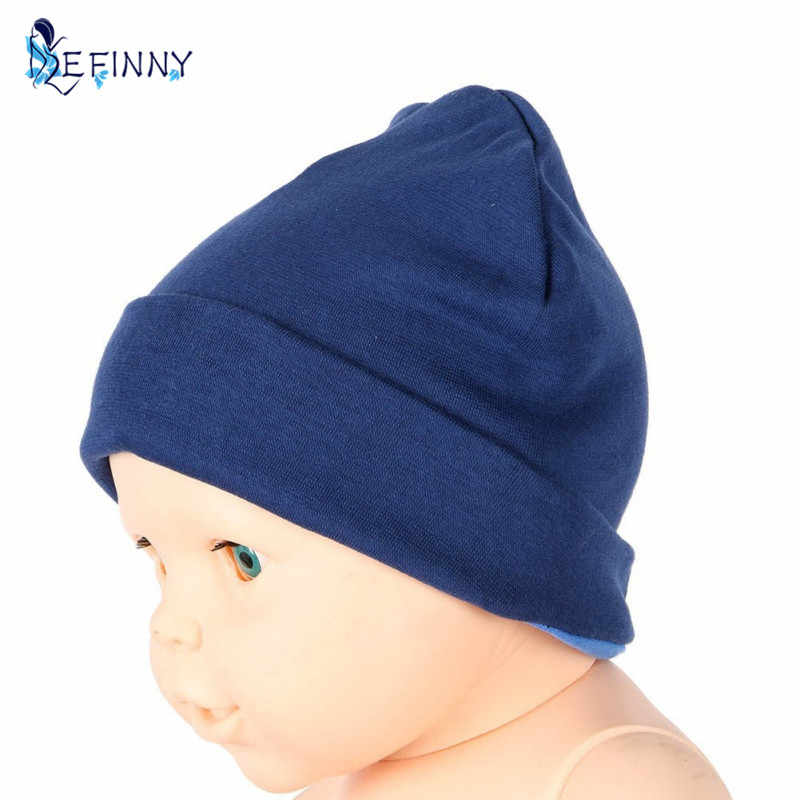 Spring Cotton Baby Beanie Hat Cartoon Print Toddler Infant Cap Scarf Set n