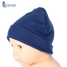 Newborn Candy Solid Colors Hat Cap Baby Beanies Hats Cotton Born