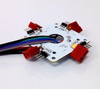 цена на APM PX4 Flight Controller Board Power Distribution Board 4 Axis Switch Panel E