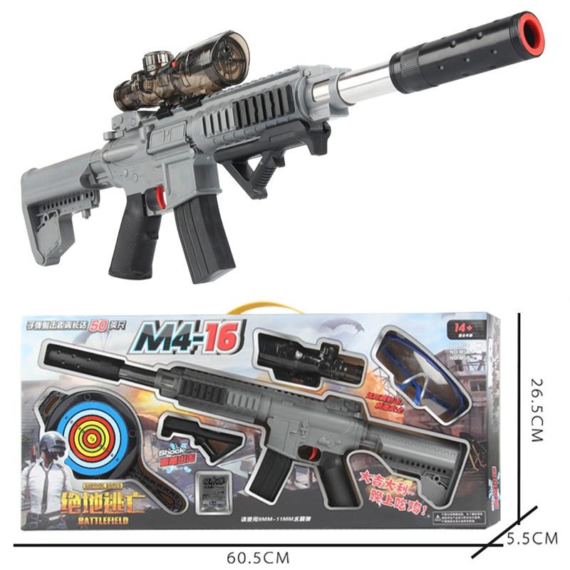 Zhen Duo jouet pistolet pistolet M416 eau absorber balle Gel balle BlasterOrbeez Air pistolet jouets pour cadeau de noël