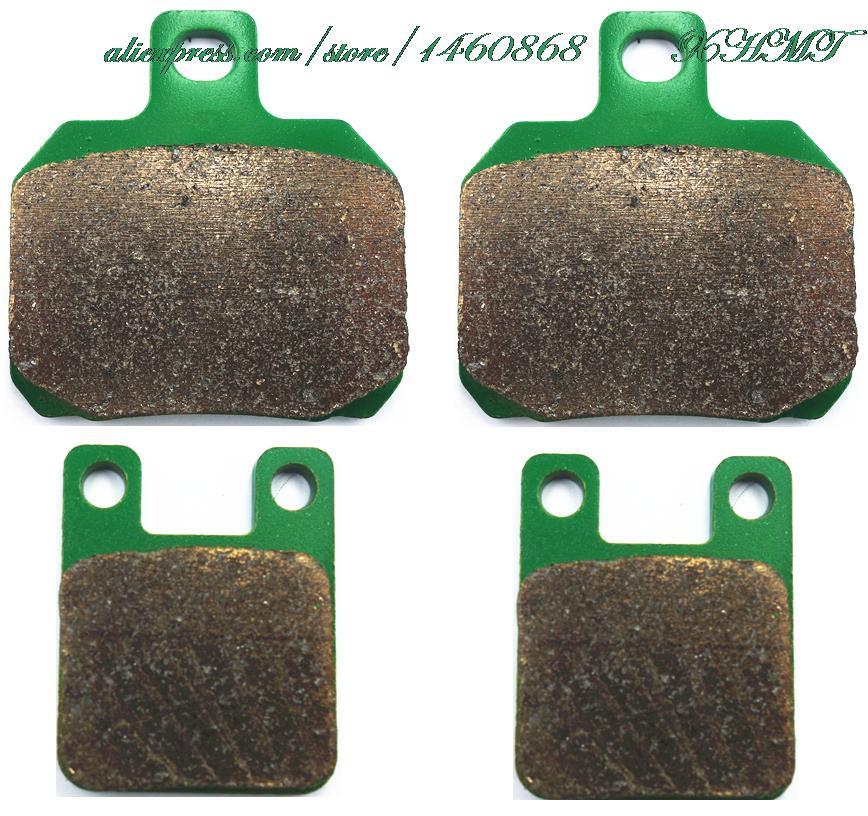 Brake Pads Set for APRILIA RS50 RS 50 2006 2007 2008 2009 2010 2011 / TUONO 50 2006 2007 2008 / MALAGUTI DRAKON 50 NKD 2005 & up f r brake pads set for malaguti 125 160 ie blog ie160 2010 2009 2011