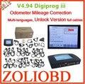 Низкая Цена 2017 Новый Авто Пробег Программирование digiprog 3 v4.94 digiprog3 хорошее качество обещание digiprog iii полный кабели DHL Бесплатно