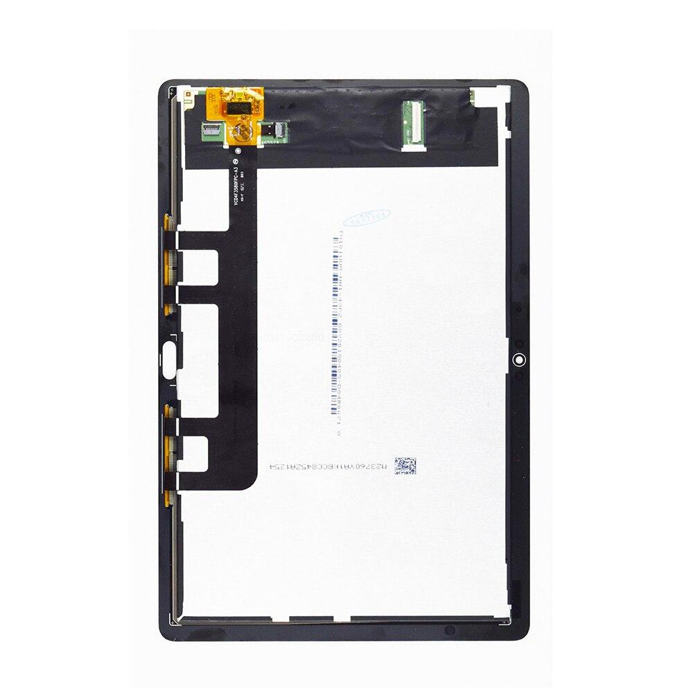 Nouveau Pour Huawei MediaPad M5 Lite LTE 10 BAH2-L09 BAH2-L09C Bach2-L09C Bach2-W19C Numériseur À Écran Tactile Avec Écran Lcd Assemblée - 2