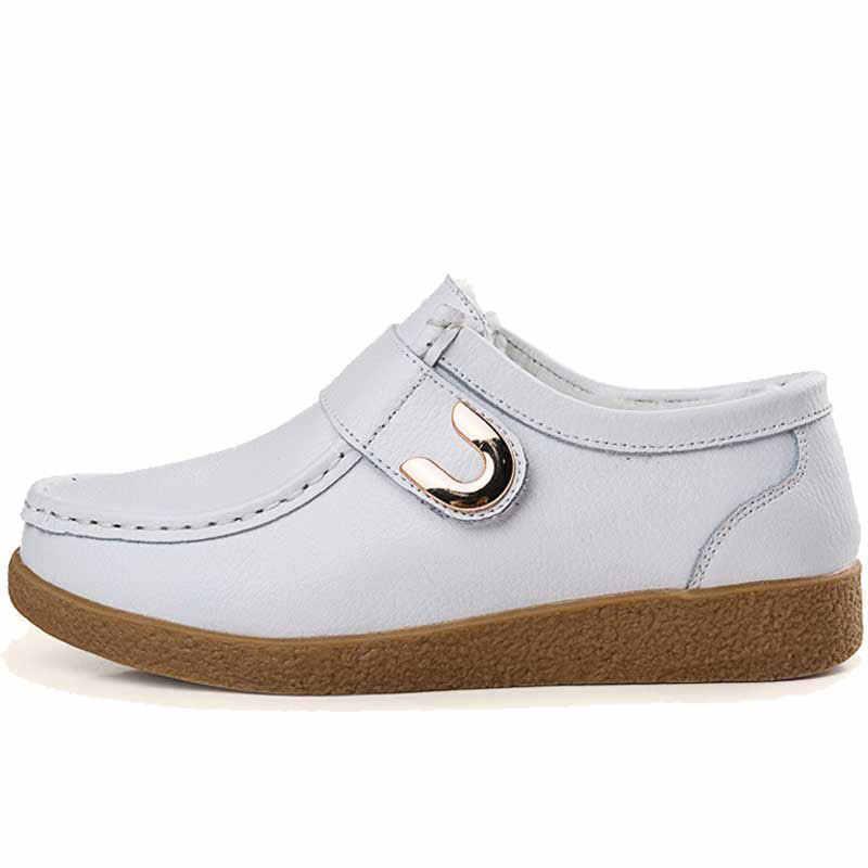 CEYANEAO 2019 Новинка; женская обувь на плоской подошве из натуральной кожи Дамская обувь «Оксфорд» Для женщин кроссовки; мокасины; женская обувь на плоской подошве Повседневное WinterE1454