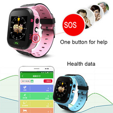 Crianças Anti-Perdido GPS Relógio Inteligente relógio de Pulso de Crianças SOS Chamada Local Estudantes Safe Guard Relógios Nova Chegada