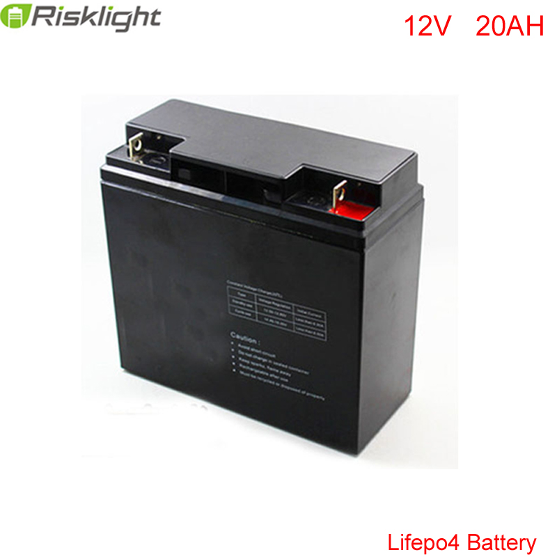 No taxes  Deep cycle 12V 20Ah LiFePo4 Battery Pack For Sola Street Lighting / Lithium iron Phosphate battery / Electric Bicycle free customs taxes and shipping balance scooter home solar system lithium rechargable lifepo4 battery pack 12v 100ah with bms