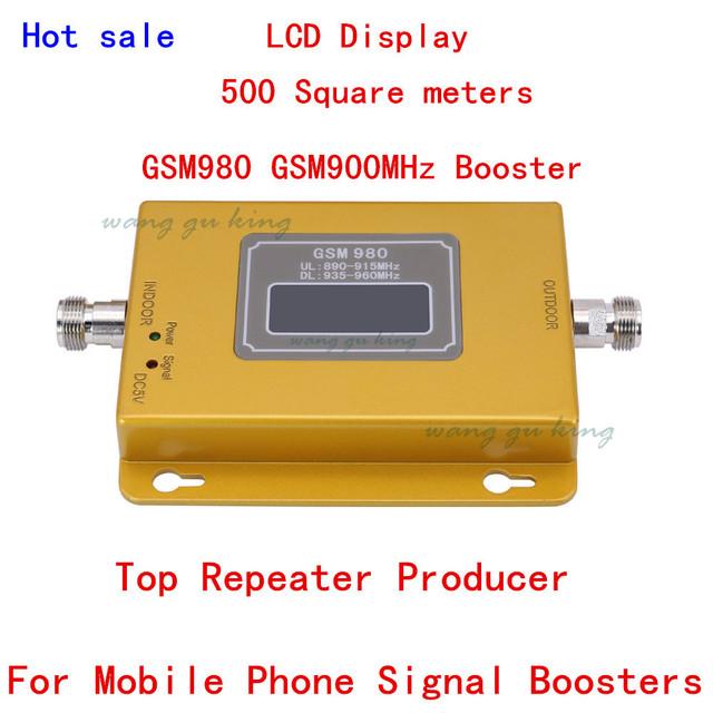 Para A Rússia GSM 980 20dbm potência display LCD telefone impulsionador repetidor GSM 900 mhz impulsionador repetidor, impulsionador do sinal GSM gsm impulsionador