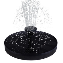 Solar Power Water Fountain Pump Solar Fontein Bird Bath Fountain Water Floating Pond 30-45cm Garden Patio Lawn Decoration#F