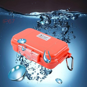 Recipientes de viagem Selado Caixas de Sobrevivência Ao Ar Livre À Prova de Choque À Prova D' Água Caso Titular Para Partidas Pequenas Ferramentas De Armazenamento Hermético