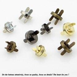 10 zestaw magnetyczne zatrzaski montażowe zatrzaski przyciski torebka torebka portfel torby rzemieślnicze części akcesoria 11mm 14mm 18mm wybierz kolory