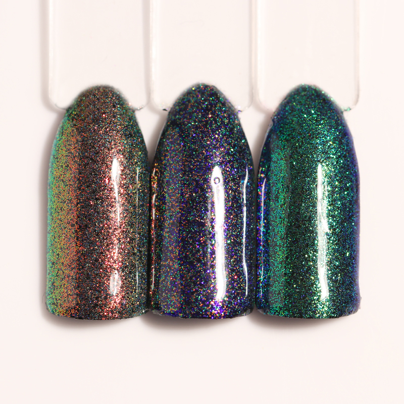 BORN PRETTY 1.5g Chameleon Mermaid Nail Powder Chrome Pigment ...