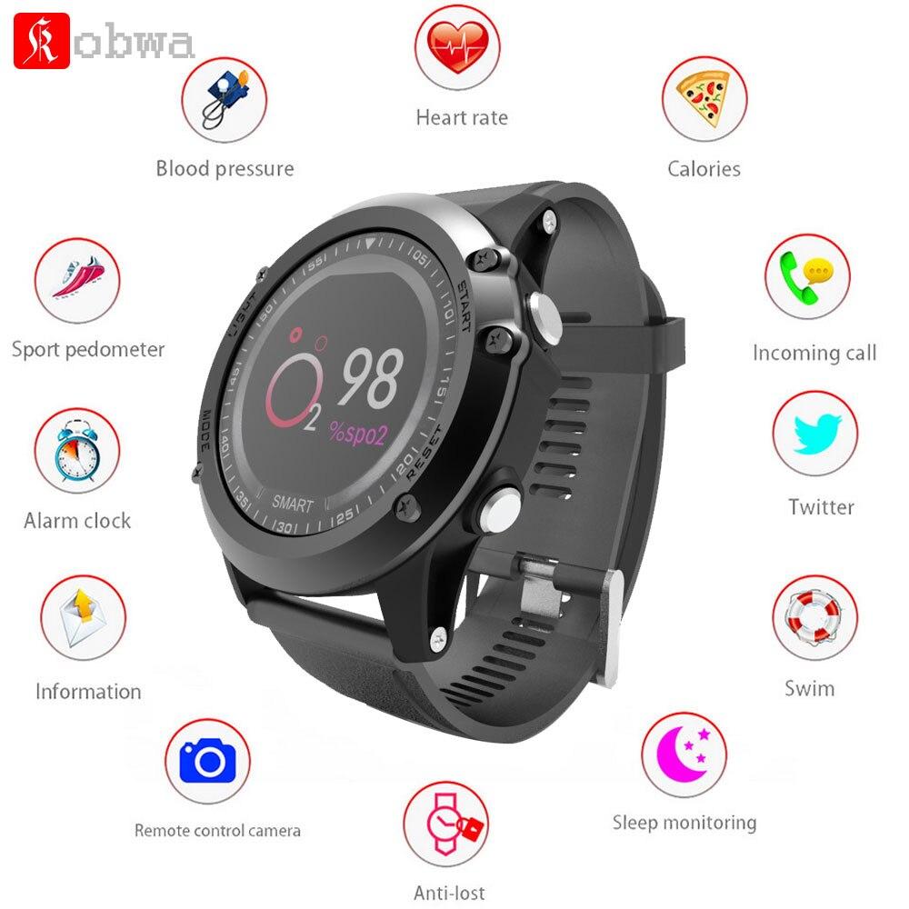 6640cd13f5ad Proyector acer T2 reloj inteligente IP68 impermeable de la presión arterial  monitor de oxígeno ...
