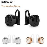 Metal Mini Stereo Bluetooth Headset V4 1 Wireless Handsfree Bluetooth Earphone Headphones Universal For Iphone Samsung