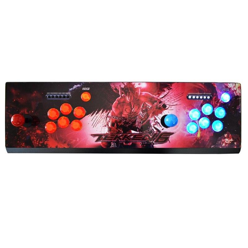 Console d'arcade vidéo rétro Pandora 6 S 1388 boîte de jeux Sanwa Joystick boutons Flash sortie HDMI VGA pour TV/PC