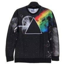 Triangle planets Printed Men/women 3d sweatshirts casual Space/Galaxy hoodies hoody tops W185