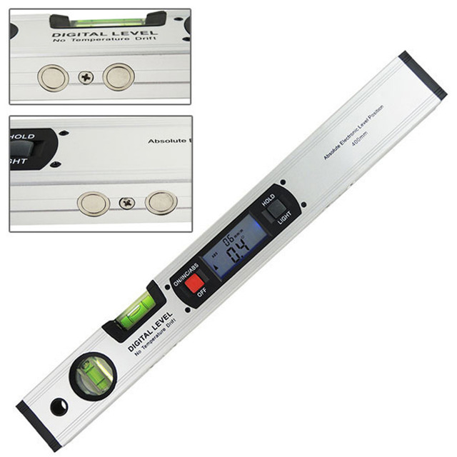 Digital Angle Finder >> Digital Angle Finder Spirit Level Digital Level 360 Degree Range