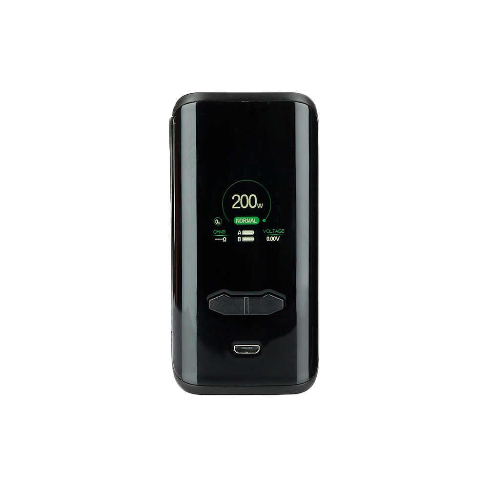 Новый оригинальный Augvape VX200 электронная сигарета бокс-мод Макс 200 Вт без 18650 Батарея мод коробка обновляемая прошивка Vs Shogun/мститель X/Luxe Mod