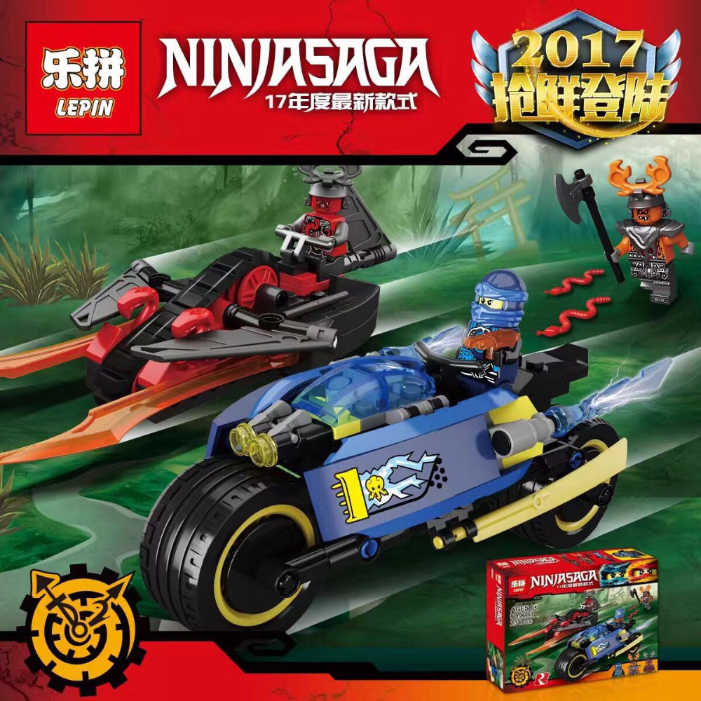 LEPIN Ninjagoed Series Desert Lightning Building Blocks Bricks Ninja Model Kids Toys Marvel Minifigure Compatible Legoe - Cy Super store