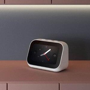 Image 5 - Originele Xiaomi AI Gezicht Touch Screen Bluetooth 5.0 Speaker Digitale Display Wekker WiFi Smart Connection met Video deurbel