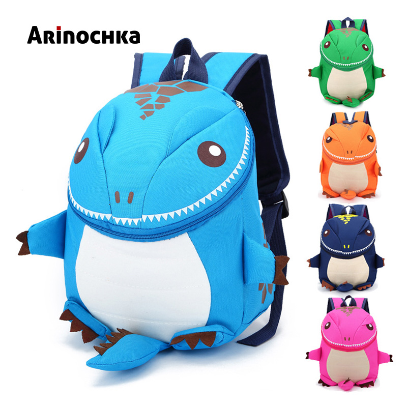 3D Cartoon Dinosaur Backpacks Kids Kindergarten Animal SchoolBag Boys Bookbag Children School Bags for Girls Mochila Baby Bag girls animal school bags backpack 3d dinosaur backpack for boys children backpacks kids kindergarten small schoolbag