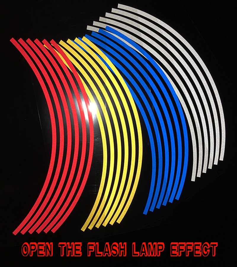 Ã� Ͼ�18pcs Strips Wheel Stickers And ��� Decals Decals