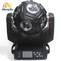 MengB 12х20 Вт RGBW 4в1 LED Луч света футбол движущийся головной свет DMX DJ/Fest/Home/Bar/Stage/фонарь светодиодный для вечеринки сценическая машина