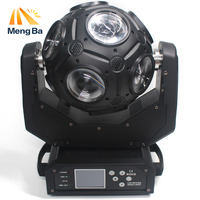 MengB 12x20w RGBW 4in1 LED Beam Light Football Moving Head Light DMX DJ/Fest/Home / Bar /Stage /Party Light Led Stage Machine