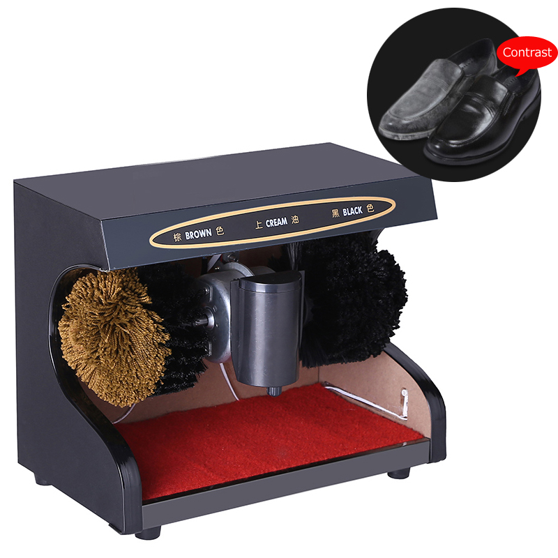 Shoe polishing machine Automatic Semiportable Horizontal Induction  shoe cleaning machine 1pc 220V SF-G01 Shoe polishing machine Automatic Semiportable Horizontal Induction  shoe cleaning machine 1pc 220V SF-G01