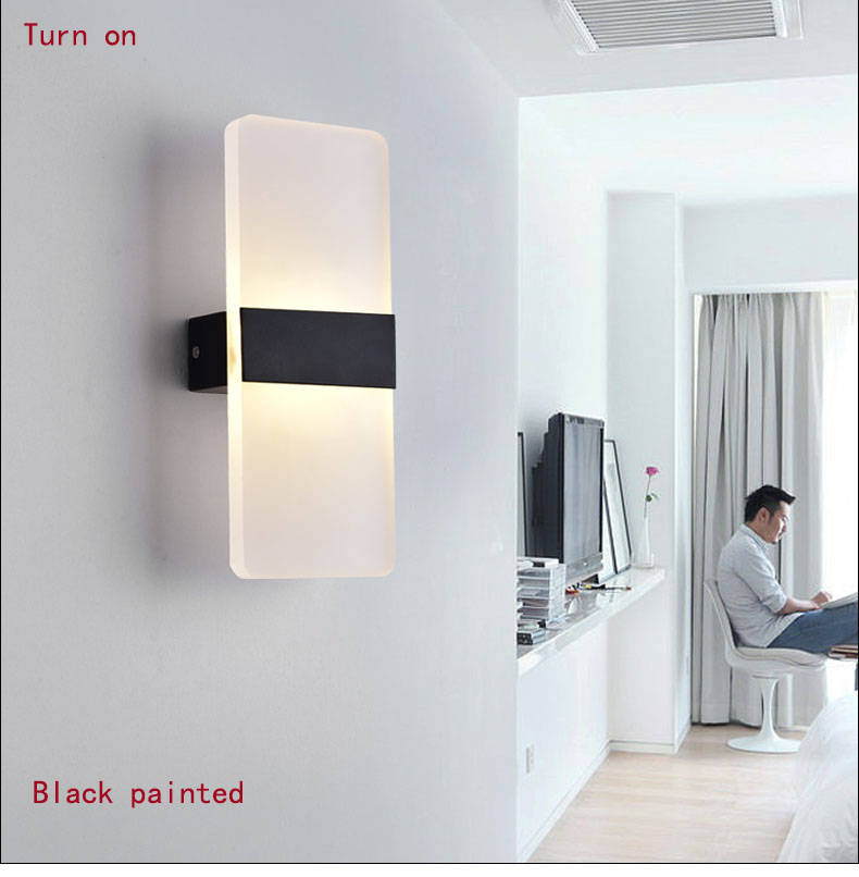 Length 27cm IPHONE6S shape LED wall lamp bedside lamp modern living room corridor hallway stairs lights Pathway Sconce Lighting urban decay mono тени для век last call
