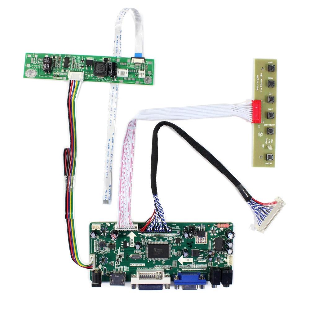 HDMI VGA DVI Audio LCD Controller Board M.NT68676 For 23