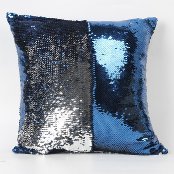 Ouneed Lovely pet Double Color Glitter Sequins Throw Pillow Case Cafe Home present Jun28