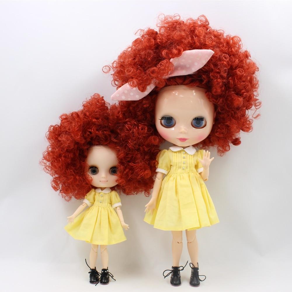 Sister Blythe Dolls Afro Hair 10 Options 1