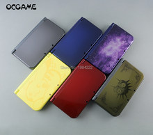 OCGAME Red Gold Yellow Black Blue Replacement Housing Shell Case Cover For New 3DS XL LL Top Bottom Shell(China)