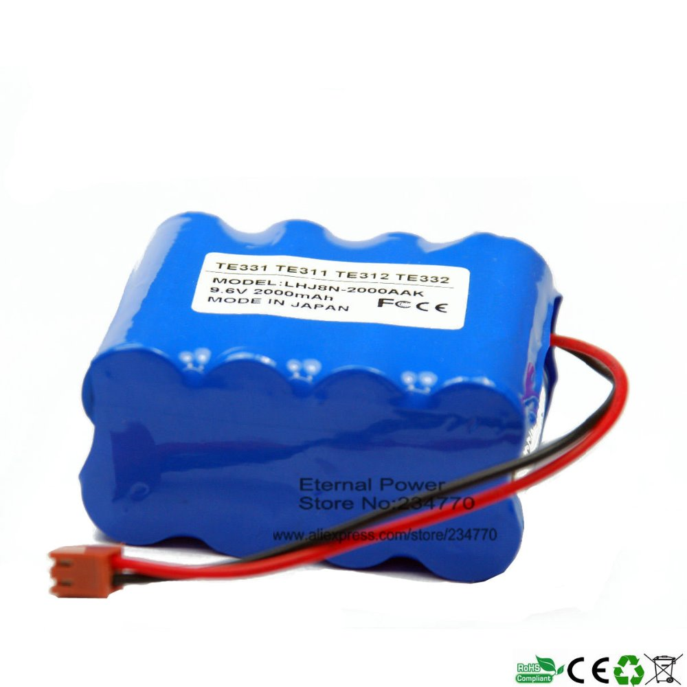 US $39 0 |Infusion Pump battery Replacement For Terumo Infusion Pump TE  331,TE 311,TE 312,TE 332,BN 600AAK Syringe Pump battery-in Rechargeable