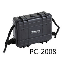0.48kg 227*182*84mm Abs Plastic Sealed Waterproof Safety Equipment Case Portable Tool Box Dry Box Outdoor Equipment
