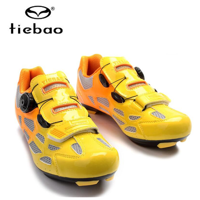 TIEBAO Cycling Shoes road women sport shoe Men Self-Locking Bicycle Bike Shoes Racing Athletic bike Sneakers Zapatillas Ciclismo inbike road cycling shoes men 2018 carbon fiber road bike shoes self locking bicycle shoe athletic sneakers sapatilha ciclismo
